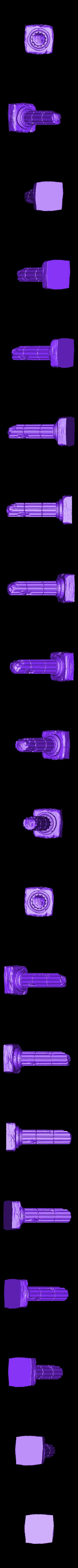 Column_B.stl Télécharger fichier STL gratuit Colonne de ruines romaines/grecques • Plan pour imprimante 3D, DarkRealms