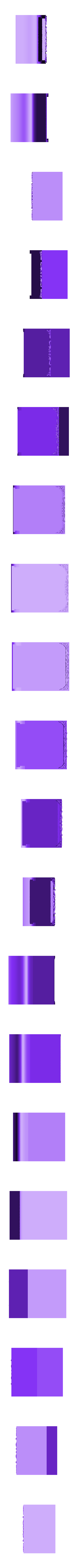 PortaCalendario_001.stl Télécharger fichier STL gratuit Porte-calendrier • Modèle pour impression 3D, Cipper
