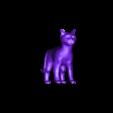 Chat Normal.obj Télécharger fichier OBJ gratuit Chat Deco • Plan à imprimer en 3D, VinDau