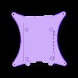 BOTTOM_100MM_VESA_BLANK.STL Télécharger fichier STL gratuit Étui Pi 4B Framboise Framboise • Objet pour imprimante 3D, mkellsy