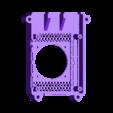 FULL_40MM.STL Télécharger fichier STL gratuit Étui Pi 4B Framboise Framboise • Objet pour imprimante 3D, mkellsy