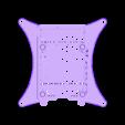 BOTTOM_100MM_VESA.STL Télécharger fichier STL gratuit Étui Pi 4B Framboise Framboise • Objet pour imprimante 3D, mkellsy