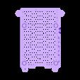 BOTTOM.STL Télécharger fichier STL gratuit Étui Pi 4B Framboise Framboise • Objet pour imprimante 3D, mkellsy