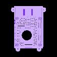 FULL_25MM_SLOTTED.STL Télécharger fichier STL gratuit Étui Pi 4B Framboise Framboise • Objet pour imprimante 3D, mkellsy