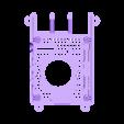 SLIM_30MM_SLOTTED.STL Télécharger fichier STL gratuit Étui Pi 4B Framboise Framboise • Objet pour imprimante 3D, mkellsy