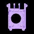 SLIM_40MM_SLOTTED.STL Télécharger fichier STL gratuit Étui Pi 4B Framboise Framboise • Objet pour imprimante 3D, mkellsy
