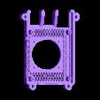 SLIM_40MM.STL Télécharger fichier STL gratuit Étui Pi 4B Framboise Framboise • Objet pour imprimante 3D, mkellsy