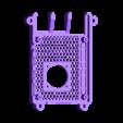 SLIM_25MM.STL Télécharger fichier STL gratuit Étui Pi 4B Framboise Framboise • Objet pour imprimante 3D, mkellsy