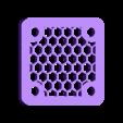 GRILL_25MM.STL Télécharger fichier STL gratuit Étui Pi 4B Framboise Framboise • Objet pour imprimante 3D, mkellsy