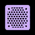 GRILL_30MM.STL Télécharger fichier STL gratuit Étui Pi 4B Framboise Framboise • Objet pour imprimante 3D, mkellsy