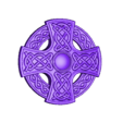 CREST_R.stl Download free STL file Celtic cross • 3D printing model, shuranikishin