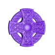 CREST2.stl Download free STL file Celtic cross • 3D printing model, shuranikishin