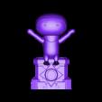dlive01.obj Télécharger fichier OBJ gratuit DLive Ninja • Design pour impression 3D, CarlCreates