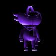 Ninja_pose_01.stl Télécharger fichier STL gratuit DLive Ninja solitaire • Modèle pour impression 3D, CarlCreates