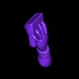 Left_arm.stl Télécharger fichier STL gratuit Spock stylisé - Pose 2 • Plan imprimable en 3D, CarlCreates