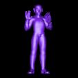 Spock_Pose_01_whole.stl Télécharger fichier STL gratuit Spock stylisé - Pose 2 • Plan imprimable en 3D, CarlCreates
