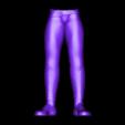 Legs.stl Télécharger fichier STL gratuit Spock stylisé - Pose 2 • Plan imprimable en 3D, CarlCreates