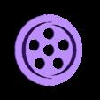 perforated_cap.stl Download free STL file McCormick Spice Jar Lid • 3D print template, donek