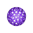 Ball_Full_Voronoi.stl Download free STL file Voronoi Ball • Object to 3D print, Oggie