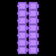 Long_box_Lids.stl Download free STL file Pill Box weekly • Object to 3D print, Oggie