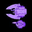 SpaceElfFloatingTankGemBlingEpicCommunity.stl Télécharger fichier STL gratuit Gem de feu Space Elf Tank Fire Gem pour l'impression en résine • Design pour impression 3D, barnEbiss2