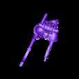 Mk_2_pistol_occult_glaive_staff_v3.stl Download free STL file Rubric Marines • 3D printer design, Mazer