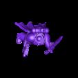 headless_capn.stl Download free STL file Inspirational General now with cloak and tassels • 3D printing design, KarnageKing