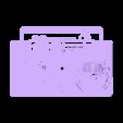 reloj_radio.stl Télécharger fichier STL gratuit Reloj RADIO CASSETTE • Design à imprimer en 3D, 3dlito