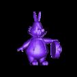 conillrefinat.obj Download free OBJ file Alicia White Rabbit • 3D printing template, MundoFriki3D