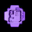 supply_depot_bottom.stl Télécharger fichier STL gratuit Dépôt d'approvisionnement Starcraft 2 • Modèle à imprimer en 3D, Lance_Greene