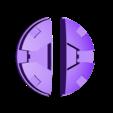 ez_belt_black.stl Télécharger fichier SCAD gratuit Boucle de la ceinture de la piscine morte Pièces de couleur séparée • Modèle pour imprimante 3D, dantu