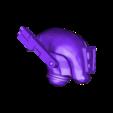 Fire_Warrior_Helm.obj Download free OBJ file Man Eating Fish Jet • 3D print design, Leesedrenfort