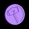 thor.STL Download free STL file Marvel - Thor logo • 3D printing model, arifsethi