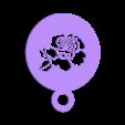 rose.STL Télécharger fichier STL gratuit Pochoir à café - Rose • Modèle à imprimer en 3D, arifsethi