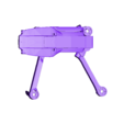 all_component.stl Download free STL file Foldable drone frame (Mavic look like, body & head alternative) Remix • 3D printer model, mwilmars