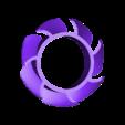 fan3.stl Télécharger fichier STL gratuit Remplacement des pales de ventilateur de 50 mm • Modèle imprimable en 3D, mwilmars