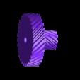 bighelical32t_0.7m.STL Télécharger fichier STL gratuit Camion Imprimé : Boîte de vitesses Rapport de démultiplication 18:1 à engrenages hélicoïdaux • Plan pour imprimante 3D, MrCrankyface