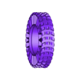 RearTyreMedium.STL Download free STL file Printed truck: Tyres • 3D printer object, MrCrankyface