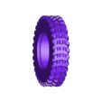 RearTyreSolid.STL Download free STL file Printed truck: Tyres • 3D printer object, MrCrankyface