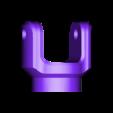 Truck_V4_Axle_Ujoint.STL Download STL file 3D Printed Rc Truck V4 • 3D printable template, MrCrankyface