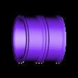 TruckV3_Axle1_rear_rim_double_x2.STL Download STL file 3D Printed RC Truck V3 • 3D print model, MrCrankyface