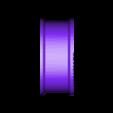 TruckV3_Axle2_Rear_Rim_Single2.STL Download STL file 3D Printed RC Truck V3 • 3D print model, MrCrankyface