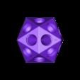 GatoradeIcosahedron.stl Télécharger fichier STL gratuit Gatorade Bottle Project : D'Icosaèdre à Dodécaèdre, Platonic Duals • Modèle pour imprimante 3D, LGBU