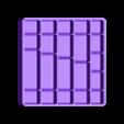 M3_Tray_v1-0.STL Download free STL file M3 Screw Organizer • 3D printable template, WalterHsiao