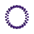 stretchy_band_01.stl Download free SCAD file Customizable Stretchy Band • 3D printing object, WalterHsiao