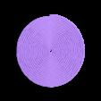 80mm_spiral.stl Download free SCAD file Customizable Spiral Generator • Model to 3D print, WalterHsiao