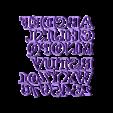 plancha ABC 3cm Cooper.stl Download free STL file ABC + NUM 3CM Cooper Cookie cutter • Design to 3D print, CutterLabs