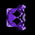 diamond_cooler_shield_blower-2mounts-bare.stl Télécharger fichier STL gratuit Rafraîchisseur de pièce à anneau chauffant diamanté • Objet pour imprimante 3D, spiritdude