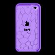 iP4_gCarvedDual_Case.stl Télécharger fichier SCAD gratuit Étuis pour iPod 4 Touch • Plan imprimable en 3D, Wachet