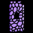 iP4_gSpots_500.stl Télécharger fichier SCAD gratuit Étuis pour iPod 4 Touch • Plan imprimable en 3D, Wachet